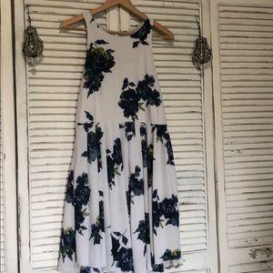Free people floral sleeveless dress